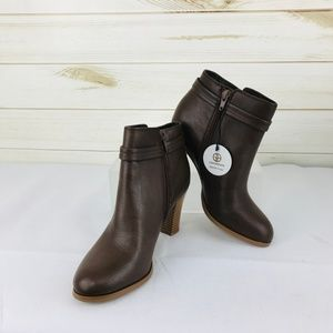 *NWT Giani Bernini Baari Booties Cacao